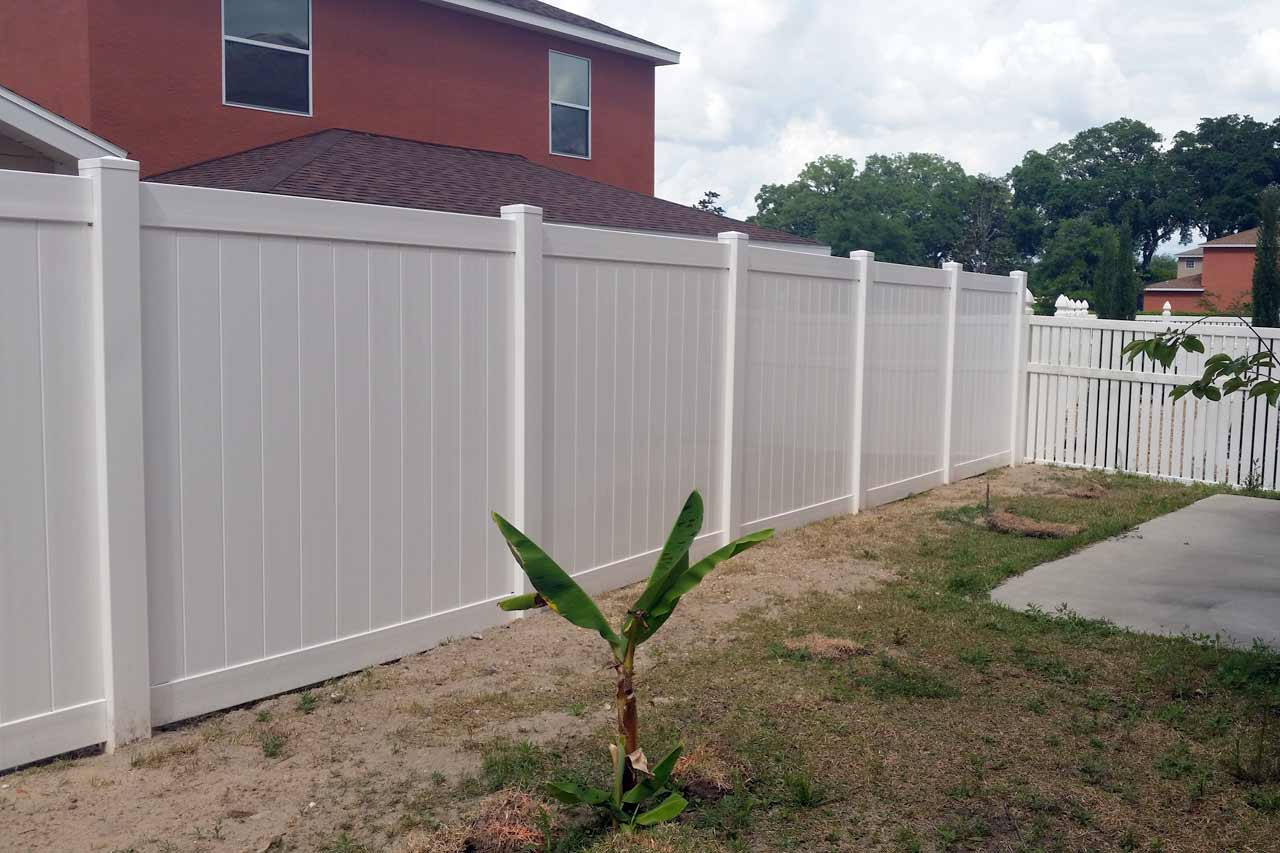 C Amp S Vinyl Fence Privacy Fence